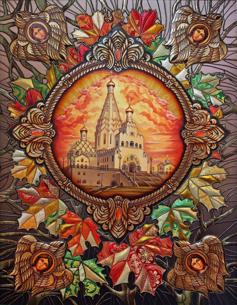 Картинки по запросу Текстильные картины Любови  Кирилловой